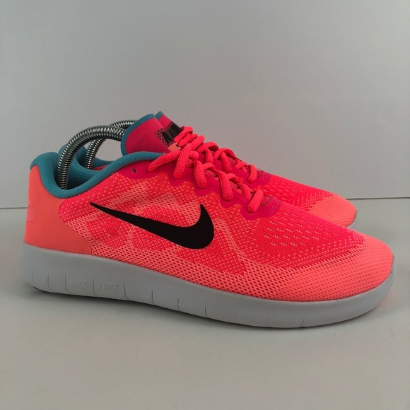 new products 14096 fb791 NEW Nike Free RN 2017 Pink Running Athletic Shoes